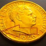 Moneda 2000 Lei - ROMANIA, anul 1946 *cod 311-3 UNC Patina --- Eroare Batere - Moneda Romania
