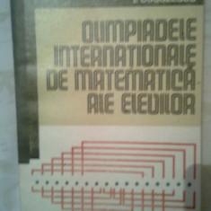 Olimpiadele internationale de matematica ale elevilor - I. Cuculescu (1978)
