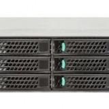 Server Intel EMC RS2312, 2 Procesoare Intel Octa Core Xeon E5-2660 2.2 GHz, 64 GB DDR3 ECC Reg, 6 x 1 TB SAS NOU, Rackabil 2U, Intel RMS25CB080 Raid