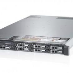 Server DELL PowerEdge R620, Rackabil 1U, 2 Procesoare Intel Octa Core Xeon E5-2680 2.7 GHz, 32 GB DDR3 ECC Reg, 10 x 256 GB SSD Samsung Nou, Raid Co