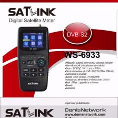 Aparat reglat antene Satlink WS-6933 DVB-S2 - Sat Finder Satfinder