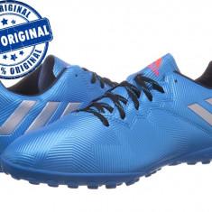 Pantofi sport Adidas Messi 16.4 pentru barbati - originali - teren sintetic - Ghete fotbal Adidas, Marime: 40 2/3, 44, 48, Culoare: Albastru, Teren sintetic: 1