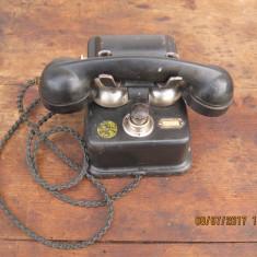 Telefon fix cu manivela-anul 1944 Propietatea S.A.R. de Telefoane Bucuresti