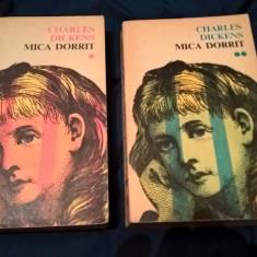 Charles Dickens - Mica Dorrit (2 vol.), (Editura Cartea Romaneasca, 1975)