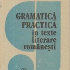 GRAMATICA PRACTICA IN TEXTE LITERARE ROMANESTI de RODICA BOGZA IRIMIA