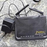 ROUTER WIRELESS JAZZTEL/ ADSL 2+, Porturi LAN: 4