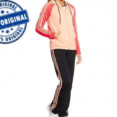 Trening Adidas New Young pentru femei - trening original - Trening dama Adidas, Marime: XS, S, Culoare: Din imagine, Poliester