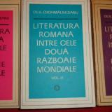 Literatura romana intre cele 2 razboaie mondiale 3 vol/1812pag- Crohmalniceanu