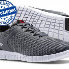 Pantofi sport Reebok Zquick Lite pentru barbati - adidasi originali - Adidasi barbati Reebok, Marime: 42.5, Culoare: Gri, Textil