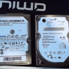 HDDuri ata Samsung si Seagate momentus pentru Laptop - HDD laptop