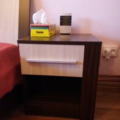 Pat dormitor + noptiere