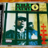 Public Enemy - It Takes A Nation Of Millions To Hold Us Back CD Remastered - Muzica Hip Hop universal records