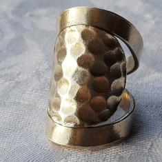 Inel argint etnic TRIBAL reglabil VECHI masiv SPLENDID vintage SUPERB rar