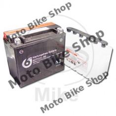 Baterie moto + electrolit 12V18AH / YTX20L-BS / 6-ON,