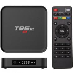 TV Box T95M, 4K, Quad-Core S905X, 2GB RAM, 8GB, WiFi, Bluetooth, KODI, Android 6.0 - Mini PC