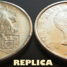 REPLICA argintata dupa moneda 100000 LEI - anul 1946 - Moneda Romania