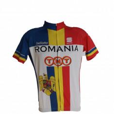 Tricou Ciclism Romania Marimea L - Echipament Ciclism