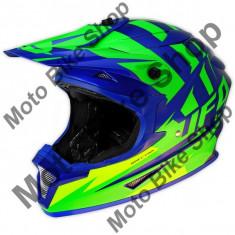 Casca motocross Ufo Spectra Solidus, S,