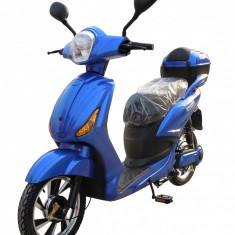 Bicicleta electrica Classic 1.0 48V 12Ah Autonomie 40km Albastru