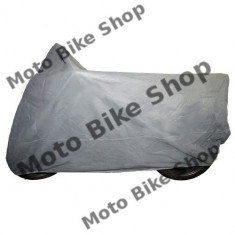 Prelata moto de interior gri 203x89x119 cm (marime M), - Husa moto