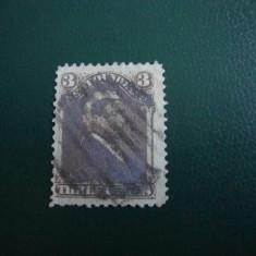 TIMBRU VECHI NEWFOUNDLAND ANGLIA/COLONII, Stampilat