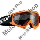 Ochelari cross/enduro S5 Emy Sand Thor, portocaliu fluorescent, sticla fumurie, - Ochelari moto