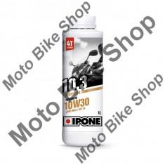 Ulei moto 4T Ipone 10.3 (10W30) Sintetic - JASO MA2 - API SL, 1L, - Ulei motor Moto