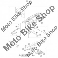 Ax bascula M16X1, 5 KTM 250 EXC 2016 #25,