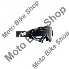 Ochelari cross/enduro S13 Enemy Thor, negru, sticla transparenta, S, - Ochelari moto