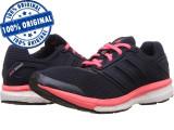 Pantofi sport Adidas Supernova Glide Boost 7 pentru femei - adidasi originali, 36 2/3, 37 1/3, 38, Negru, Textil