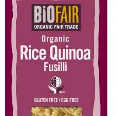 Fusilli din orez si quinoa fara gluten bio 250g - Paste fainoase
