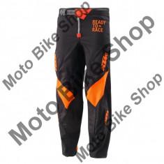 Pantaloni motocross KTM Pounce, negru/portocaliu, L/34, - Imbracaminte moto