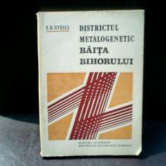 Districtul metalogenetic Baita Bihorului - S. D. Stoici