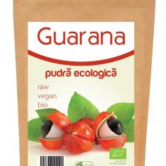 Guarana pulbera raw bio 125g - Ulei relaxare