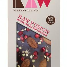Ciocolata artizanala cu caise si piper rosu raw bio 30g - Dulciuri