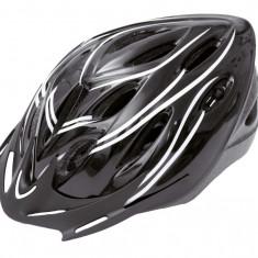 Casca Adulti Out-Mold Marime M Negru cu Design Alb - Echipament Ciclism
