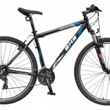 Bicicleta DHS Terrana 2923 Culoare Negru/Albastru – 457mm - Ulei relaxare