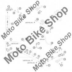 Pompa frana spate 690 RALLY FACTORY REPLICA 2010 #12, - Maneta frana Moto