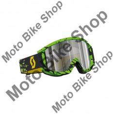 Ochelari cross/enduro Scott Recoil XI PRO lentila Chrome culoare Monster verde, - Ochelari moto