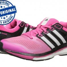 Pantofi sport Adidas Supernova Glide 6 Boost pentru femei - adidasi originali - Adidasi dama, Culoare: Roz, Marime: 36, 36 2/3, 38, 39 1/3, Textil