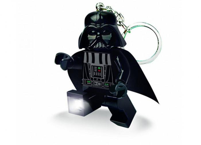 Breloc cu lanterna LEGO Darth Vader foto mare