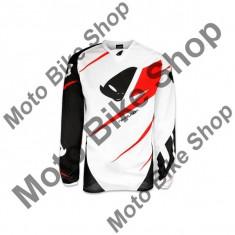 Tricou motocross Ufo Plast Revolution, alb, M,