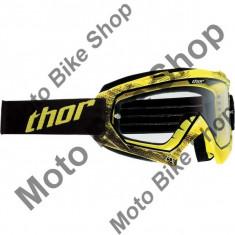 Ochelari cross/enduro S14 Enemy Tread Thor, galben/negru, sticla transparenta, S, - Ochelari moto