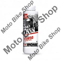 Ulei moto 4T Ipone Road Twin 15W50 Sintetic - JASO MA2 - API SL, 1L, - Ulei motor Moto