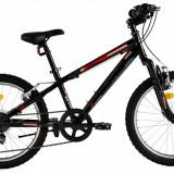 Bicicleta DHS Terrana 2023 (2016) Culoare Negru - Ulei relaxare