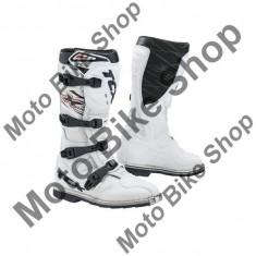 Cizme motocross TCX X-MUD, albe, 46,