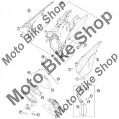 Carcasa alba filtru aer KTM 250 EXC-F Europe 2013 #4, - Componente moto