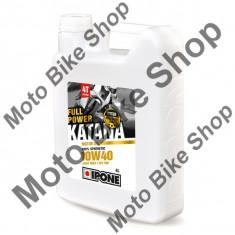 Ulei moto 4T Ipone Full Power Katana 10W40 100% Sintetic ESTER - JASO MA2 - API SM, 4L, - Ulei motor Moto