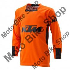 Tricou motocross KTM Pounce, portocaliu, S,