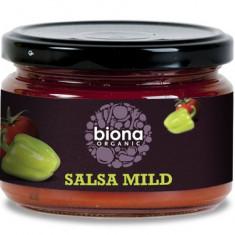 Sos salsa dip mediu picant bio 220g